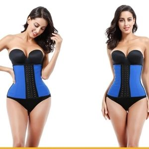 Latex waist trainer 9 steel boning